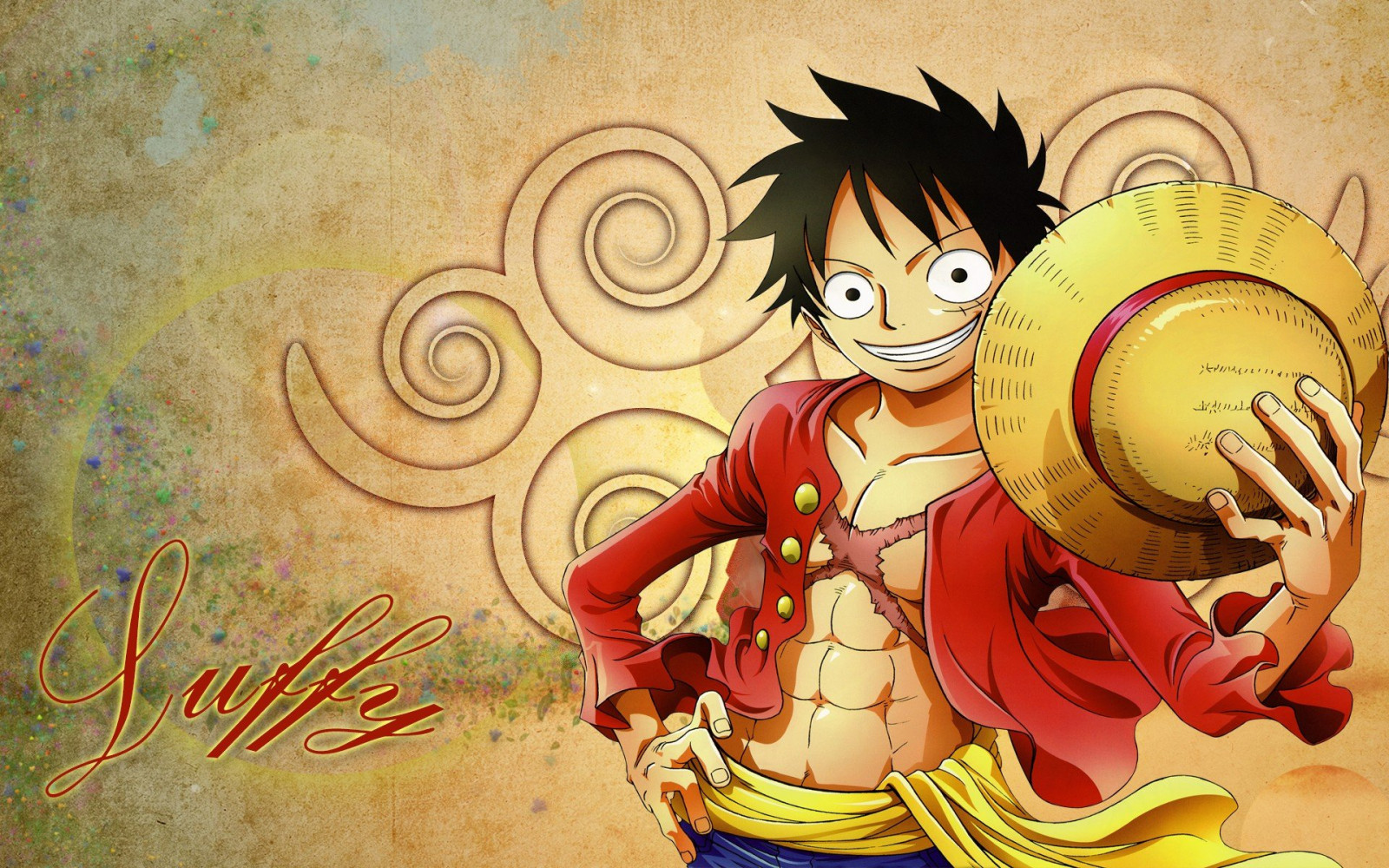 The straw hat grand fleet is a fleet formed by seven pirate crews who vowed to serve under monkey d. Wallpaper 1920x1200 Px Anime Monkey D Luffy One Piece Straw Hat 1920x1200 Coolwallpapers 1509075 Hd Wallpapers Wallhere