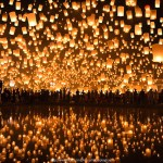Wallpaper Temple Landscape People Dark Night Asia Water Red Reflection Sky Outdoors Asian Photography Stars Lantern Sign Fire Lamp Orange Paper Balloon Floating Christmas Lights Thailand Peace Romantic Culture Fly Air