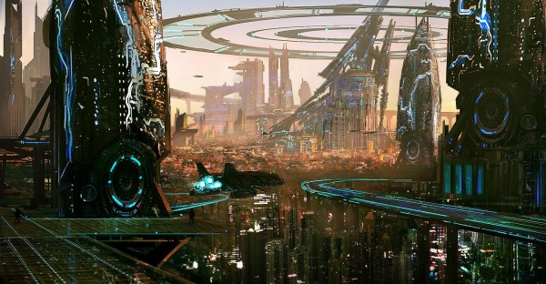 Sci-Fi Art Futuristic Cities