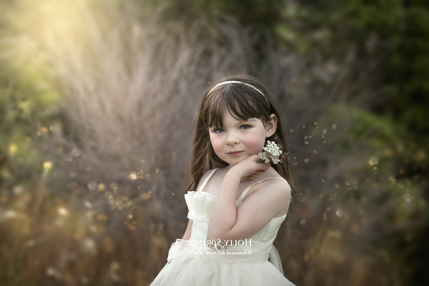Cute Little Girl Hd Wallpaper Wallpaper Model Children Happy Wedding Dress Person