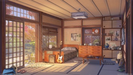 anime room visual novel living interior outdoor cottage wood estate farmhouse roll money rock structure property hd wallhere