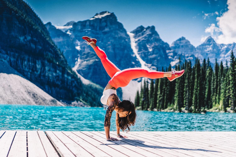Fondos De Pantalla Montañas Mujer Naturaleza Superficie De