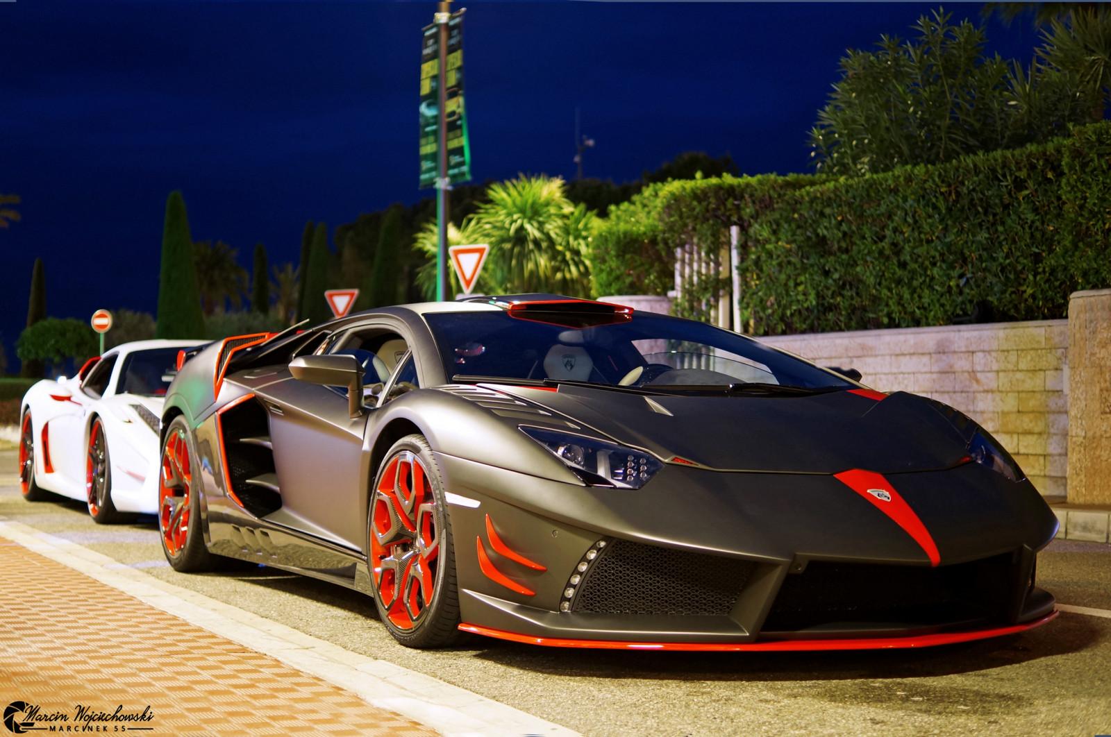 Lamborghini Aventador Cars Wallpapers Wallpaper Red England Orange White Black Paris