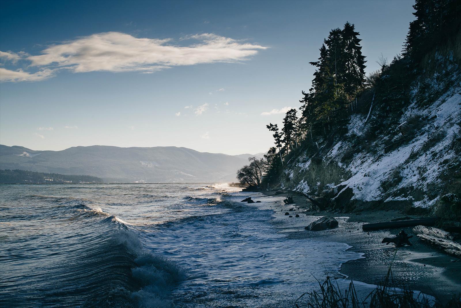 wallpaper sunlight landscape sea