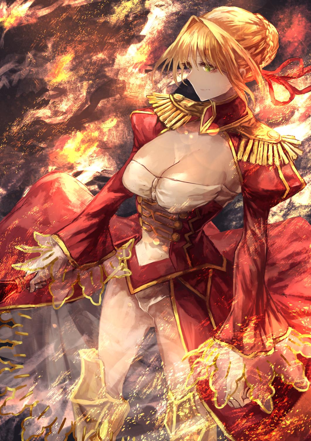 Cute Sakura Wallpaper Wallpaper Signo Aaa Fate Series Fate Grand Order Nero