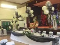 chair cover hire rugeley saarinen tulip cushion replacement in reviews yell image of pelsall balloons wedding