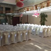 wedding chair cover hire west yorkshire sweet 16 throne covers castleford function services yell image 2 of