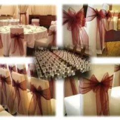 Wedding Chair Cover Hire Bournemouth Small Outdoor Table And Chairs Covers In Reviews Yell Image Of Cloverleaf
