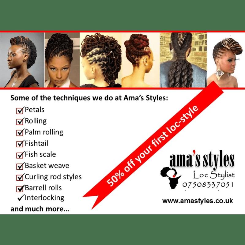 Ama Styles Dreadlocks And Natural Hair Salon Birmingham