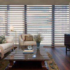 Window Coverings For Living Room Interior Design Ideas Custom By Hunter Douglas Shadings Transitional Copper Pirouette