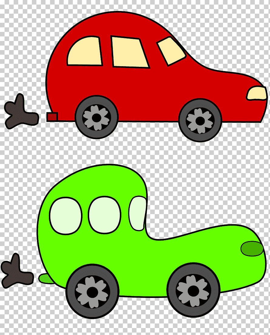 Car Cartoon Png : cartoon, Cartoon,, Grass,, Transport, Klipartz