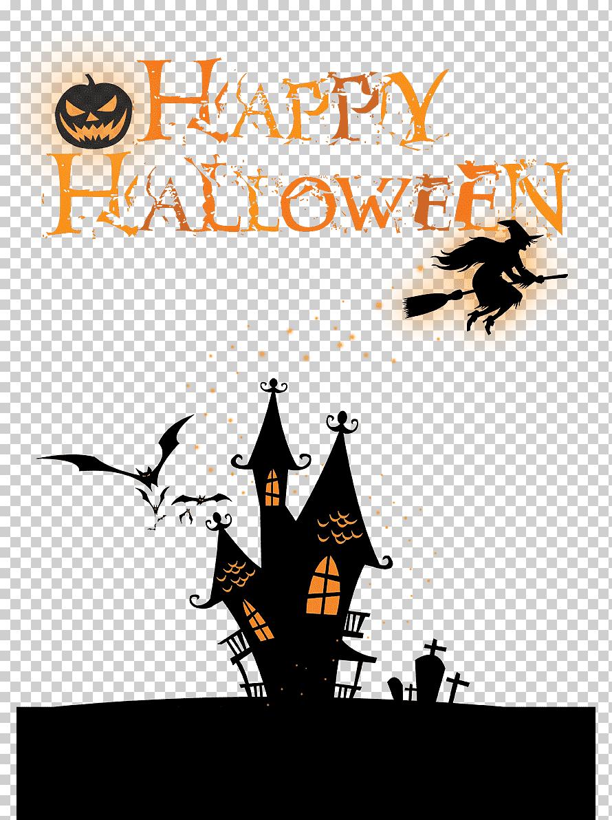 Halloween Logo Png : halloween, Halloween, Poster,, Banner, Free,, Happy, Halloween,, Design, Template,, Klipartz