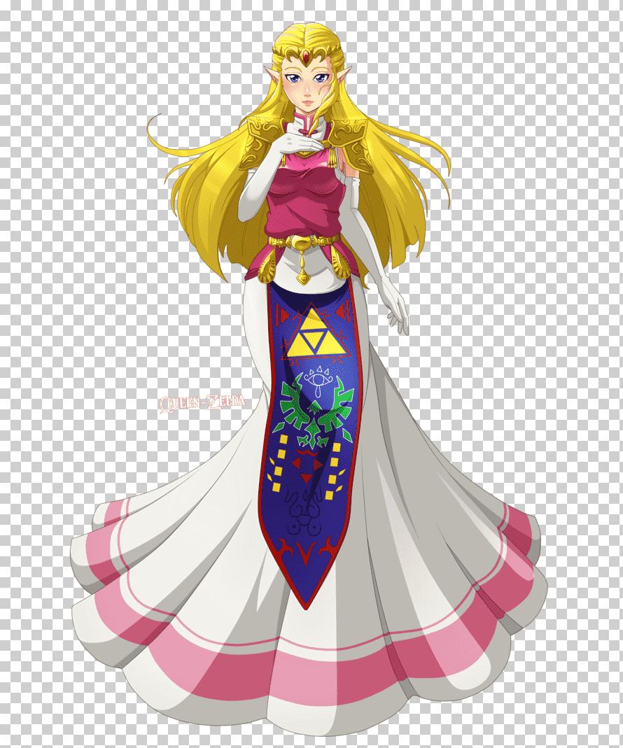 Princesse Zelda Ocarina Of Time : princesse, zelda, ocarina, Legend, Zelda:, Ocarina, Princess, Zelda, Link,, Breathing,, Video, Game,, Fashion, Illustration,, Fictional, Character, Klipartz
