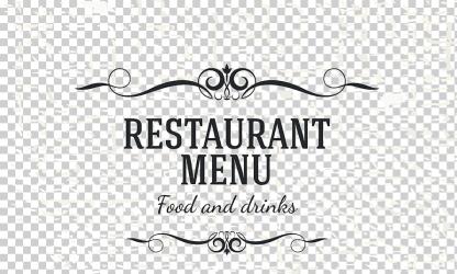 Cafe Menu Restaurant nostalgic menu food poster happy Birthday Vector Images png Klipartz