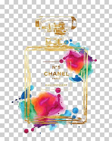 chanel no 5 coco drawing perfume