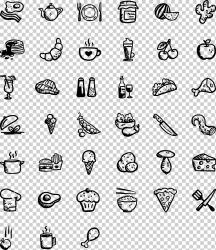 Computer Icons Fast food Restaurant Icon design Random icons angle food animals png Klipartz