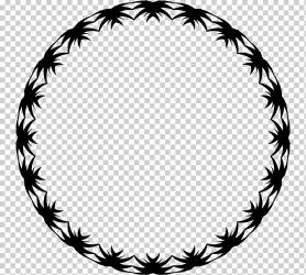 Hula Hoops graphy chinese circle border frame leaf bracelet png Klipartz