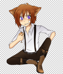 Gray wolf Anime Drawing Manga Chibi anime boy comics mammal boy png Klipartz
