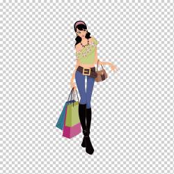 Shopping Fashion Woman Girl Women Fashion Design Shopping fashion Girl holidays retail png Klipartz