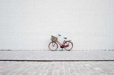 HD wallpaper: netherlands amsterdam minimalist pastel urban bike red Wallpaper Flare