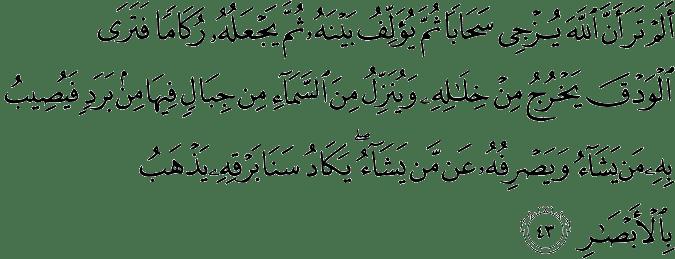 Surat An-Nūr (The Light)