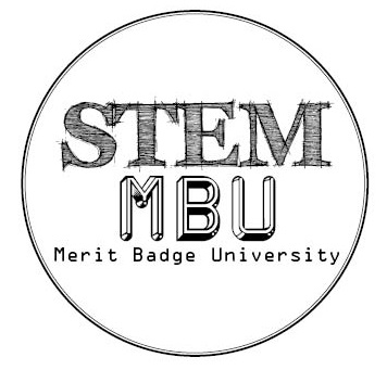 The STEM Merit Badge University will be on March 26th