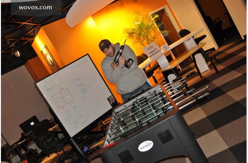 HubSpot games foosball ping pong culture matches Orange Boston Cambridge MIT