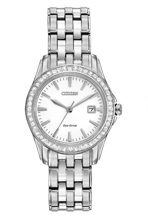 Citizen Citizen Eco-Drive Silhouette Crystal EW1901-58A