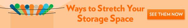 Creative storage ideas navigation banner