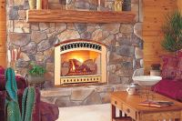 GAS FIREPLACE CRACKLE  Fireplaces