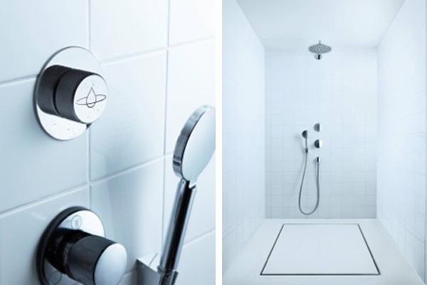 Orbital shower system
