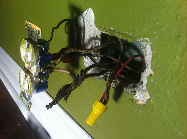Electrical Wiring Code Violations