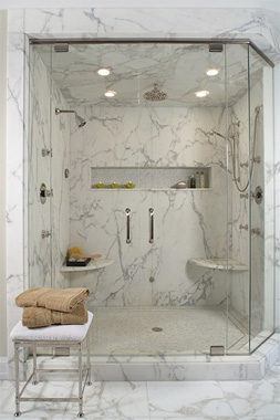 Bathroom Showers  Shower Stall Ideas  HouseLogic Bath