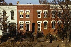 Row house exteriors