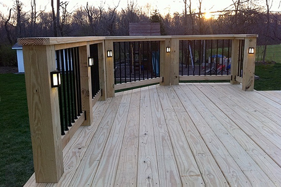 decking lighting ideas. Installing Fiber Optic Lighting Is A Good DIY Project. Kit With 120 Emitters And Cables About $325. Decking Ideas