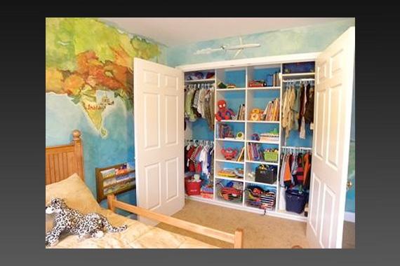 Kids Rooms Storage Ideas
