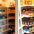 Decorchick used carousels to organize her pantry and increase storage