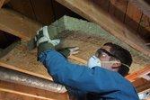 Installing rigid insulation in attic | Energy tax credits