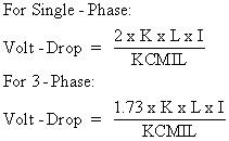 single phase voltage drop formula 2002 ford escape ac wiring diagram