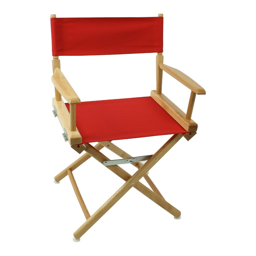 Telescope World Famous Personalized Canvas Directors Chair