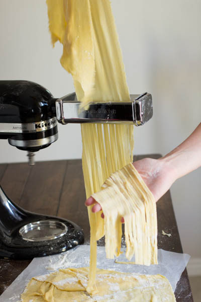 kitchen aid pasta attachments cart white homemade chicken noodle soup | the kitchenthusiast