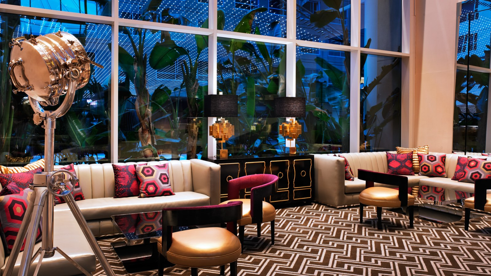 Living Room W Hollywood Hotel Part 92