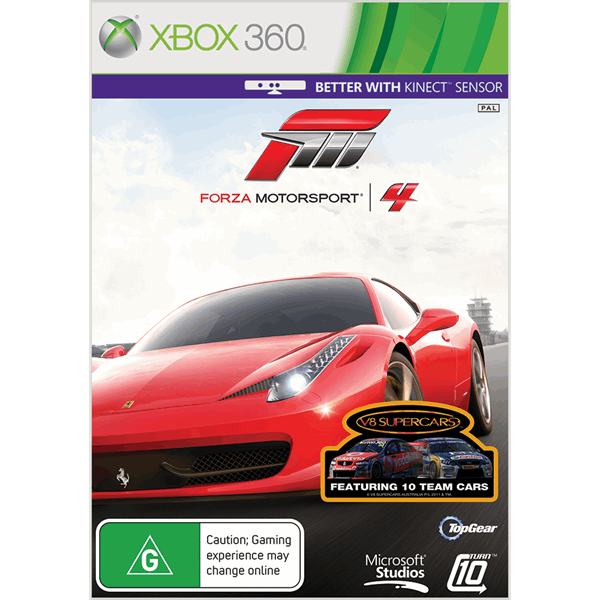 Forza Motorsport 4 Preowned EB Games New Zealand