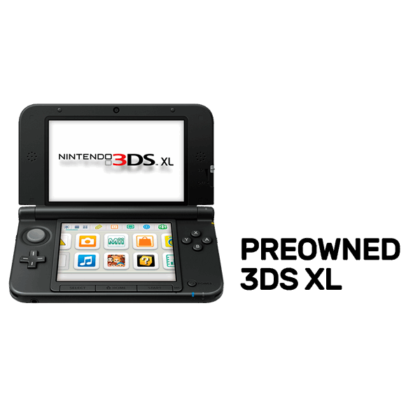 Nintendo 3DS XL Refurbished By EB Games Preowned EB