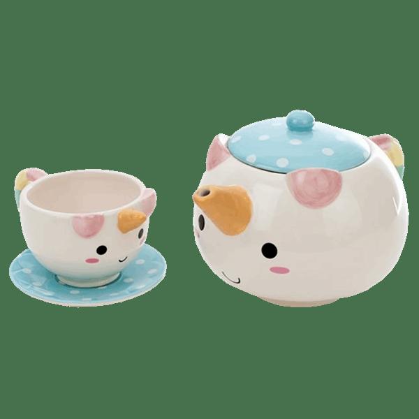 thinkgeek elodie unicorn teapot