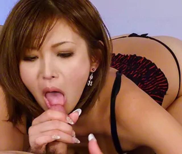 Amazing Asian Blowjob With Sensual Mai Kuroki