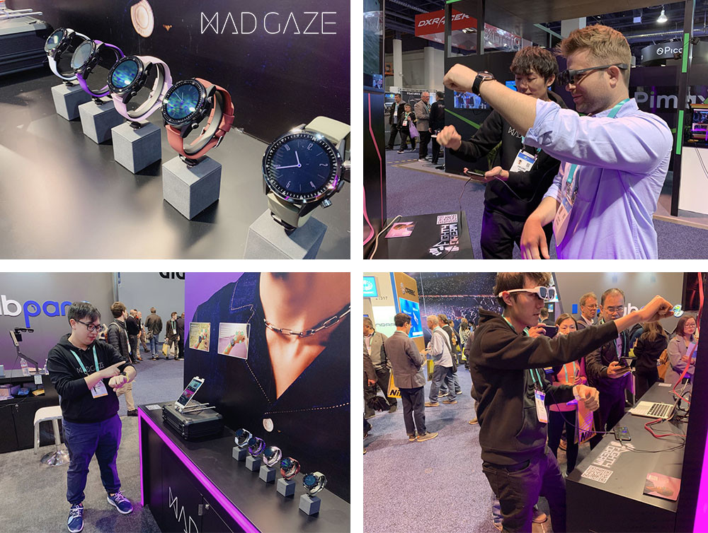 MAD GAZE: Smartest Watch with Gesture Controls