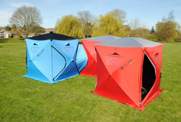 167bafac1fe QUBE TENT - The Ultimate Connectable Pop-Up Tent - Camping Sleeping ...