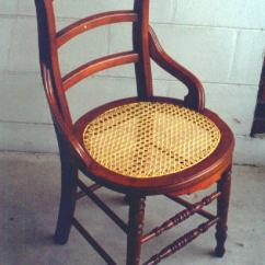 How To Cane A Chair Install Rail Furniture Specific Comfortable Seating Hand This Has Seat Made Of Seven Strands Handwoven Into