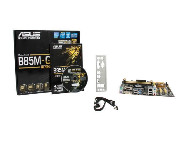 ASUS B85M-G R2.0 LGA 1150 Micro ATX Intel Motherboard - Newegg.ca